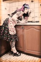 1950s housewife by Miss-Cherry-Martini