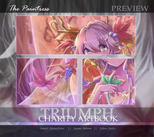 Triumph Artbook Preview: The Paintress by JayLu
