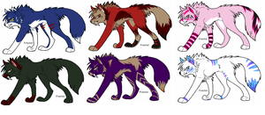 Wolf Adopts by KaiserTiger