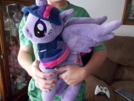 Huggable Princess Twilight Sparkle by CINNAMON-STITCH