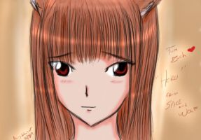 """Horo"" Spice and Wolf by lp-slash-queen"