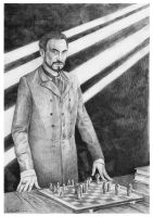 Lord Vetinari by Finnguala