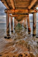 Under the Pier HDR by DanielleMiner