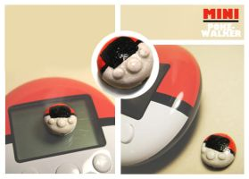 Sculpey MINI Pokewalker by dragofyre7