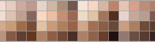 Photoshop skin tone swatch by Zedna7