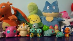 Some Of My Pokemon Collection by lizabey