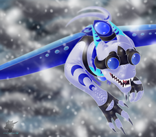 Winter Skies by CriexTheDragon