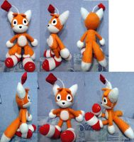 Tails Doll plushie by Rens-twin