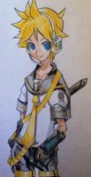 Kagamine Len-Wish by Drawmaster001