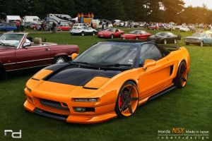 Honda NSX by Rob3rT----Design