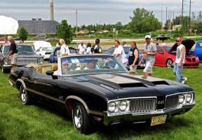 The 1970 Olds 442 W-30 by musksnipe