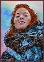 Kissed by Fire by DavidDeb