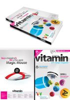 vitamin-3D magazin cover by Vahitman