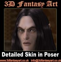 Adding Detail to Skin in Poser by 3D-Fantasy-Art