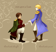 The Knight and The Prince (Eremin) by sulkingmoon