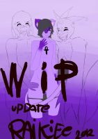 Zapped Cover Wip 2 by RAIKIEE