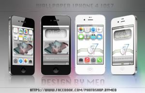 Wallpaper pack iphone 4 ios 7 by Meophotographie