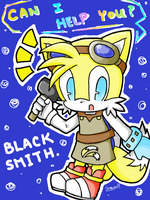 :Sonic: Blacksmith from SBK by sunowi0421