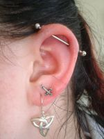 Industrial Piercing by InToXiCaTeD-MiNd