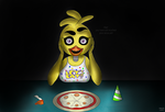 Hey! you have not touched your pizza yet! by Loyther