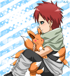 Gaara's furry friend by Endless-Rainfall