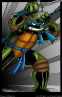 TMNT Leonardo Colored by CliffEngland