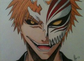 ~Hollow Ichigo~ by Fang-Vanille