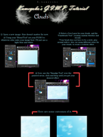 GIMP Clouds Tutorial by Bre-Kitsuyami