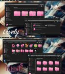Theme Iconpackager Lovely by maritzha89