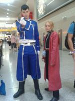 Roy Mustang and Edward Elric by Ligrano