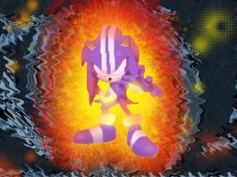 Dark Spine Sonic by Metal-Overlord