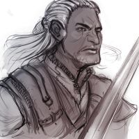 Geralt of Rivia by UninvitedChaos
