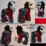 Super Saiyan 4 Vegeta by AnimeAmy