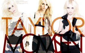 Taylor Momsen - Two by mlehdesigns