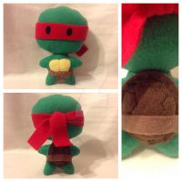 *SOLD* Ninja Turtles: Raphael Plush by Decepti-Gal2313