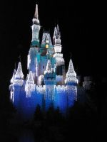 The Disney Castle by SkyShell