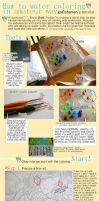 Water-color Tutorial from Starter to Starters by handsomedarachan