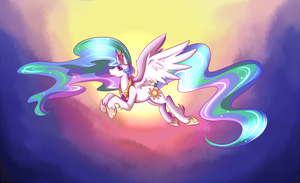 Princess sunbutt by littlerubyrue