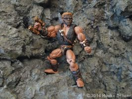 3D printed Caveman Character C (hand painted) by hauke3000