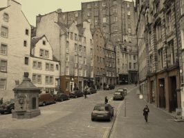 Edinburgh by abumpinthenight