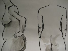 Life Drawing: Numero Six-o by TheLamadude