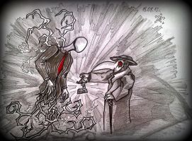 Slender meets the Plague by ACiDAT0R