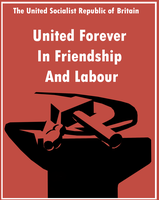 Socialist Republic Poster by Party9999999