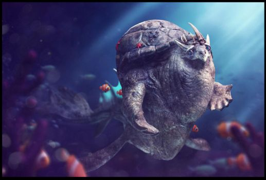 Bob the King of the Sea by guilemo