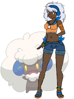 Momo the Shiny Whimsicott by Lexial-XIII
