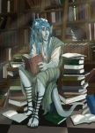 In the Library by tinkerbelcky