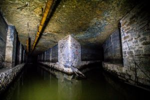 Underground Waterway by 5isalive