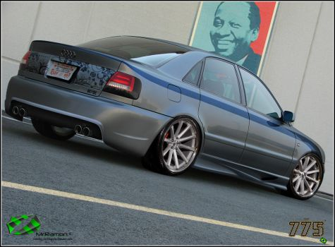 Audi A4 Street Style by Mr-Ramon