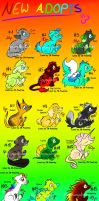 30 Animal Adopts 2 by Hoffnungsstern