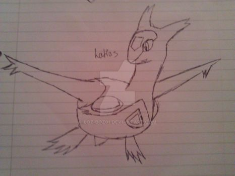 Latias - WIP by loz-boz01